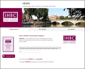 HESPR homepage