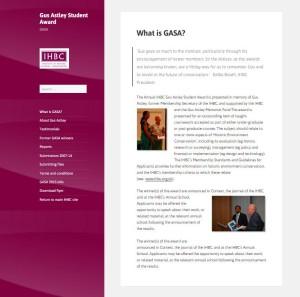 GASA_homepage
