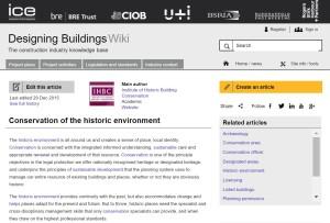 Designing Buildings wiki