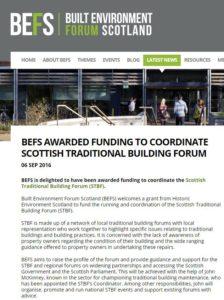 BEFS website