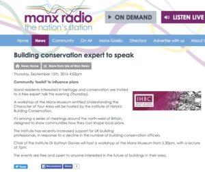 Manx Radio website