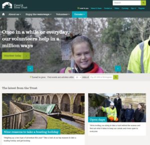 Canal and River Trust website
