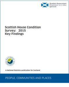 Scottish Housing Condition Survey 2015