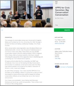 APPG Civic Voice website