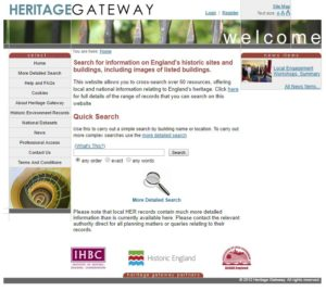 Heritage Gateway website