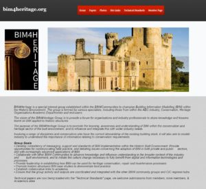 Bim 4 heritage website