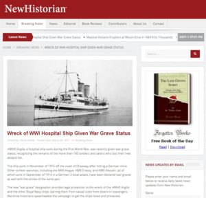 New Historian website