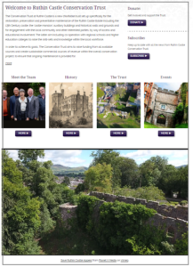 Ruthin Castle Conservation Trust website