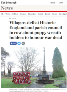 Telegraph website 10 March 2017