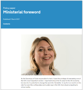UK Gov Digital Strategy Policy Doc