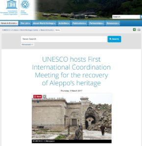 Unesco news website