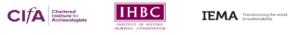CIfA IHBC IEMA logos