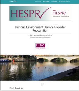 HESPR website