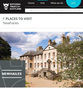 Newhailes website April2017