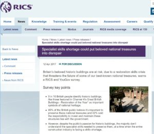 RICS news 12 April 2017