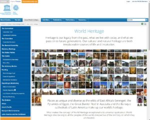 UNESCO World Heritage website