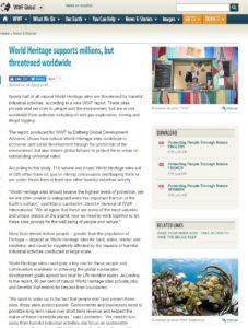 WWF Global website 280417