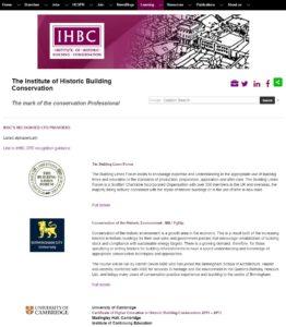IHBC CPD Providers