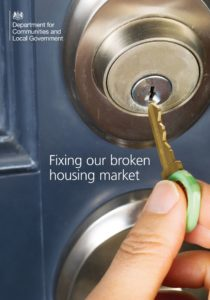 Fixing our broken housing market consultation
