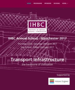 Manchester 2017 conference website