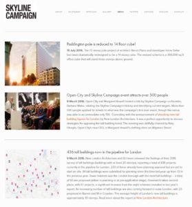 Skyline Campaign website 17/05/2017