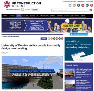 UK Construction website