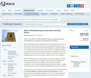 RICS website