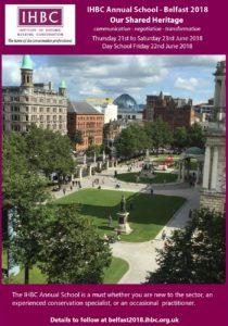 Belfast2018 flyer