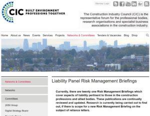 CIC Risk Management headline website 280717