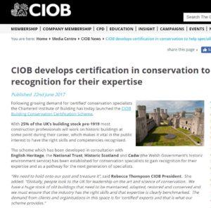 CIOB website 110717