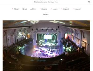 The Leith Theatre AHF website
