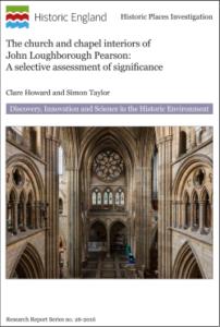 Historic England Church Chapel Interiors cover
