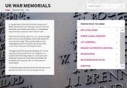 UK War Memorials website 250817