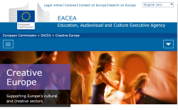 Creative Europe website 220917