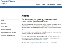 Grenfell Tower Inquiry website