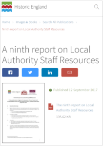 HE Report cover on LA Staff Resources