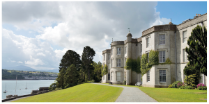 Plas Newydd, a country house on the north bank of the Menai Strait in Anglesey