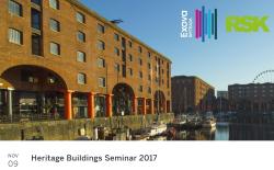 Heritage Seminar 2017 image