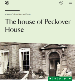 NT webstie Peckover House