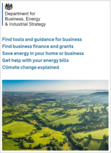Dept of Business Industry & Energy website 031117