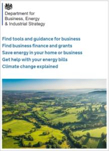 Dept of Business Industry & Energy website 031117