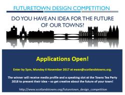 Future town design competition: create the future of