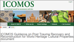 ICOMOS website 211117