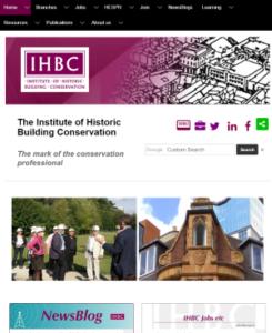 IHBC website