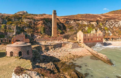 Porth Wen Brickworks, Isle of Anglesey (© Crown copyright (2017) Visit Wales)