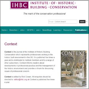Context webpage