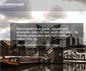 Birmingham Civic Society homepage