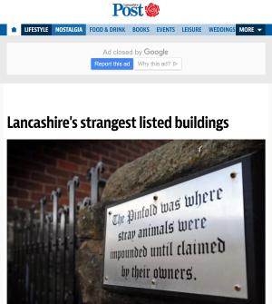 Lancashire Post website