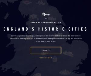 Heritage Cities website