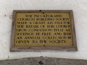 ICBS plaque